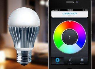 LIFX bulb and app