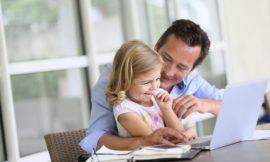 Opening your home office door to your kids
