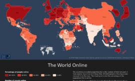 The digital world mapped!