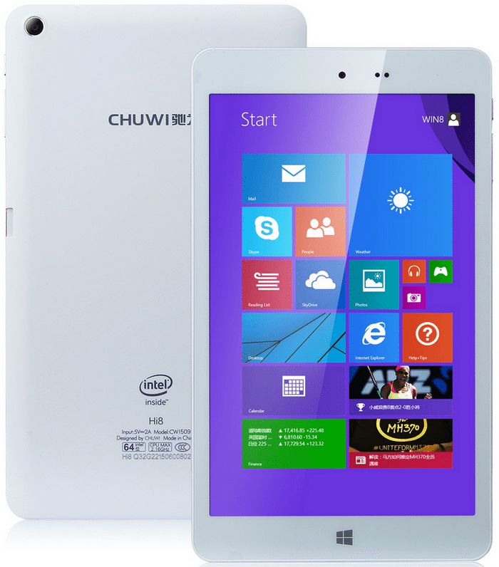 Chuwi Hi8 dual-boot tablet