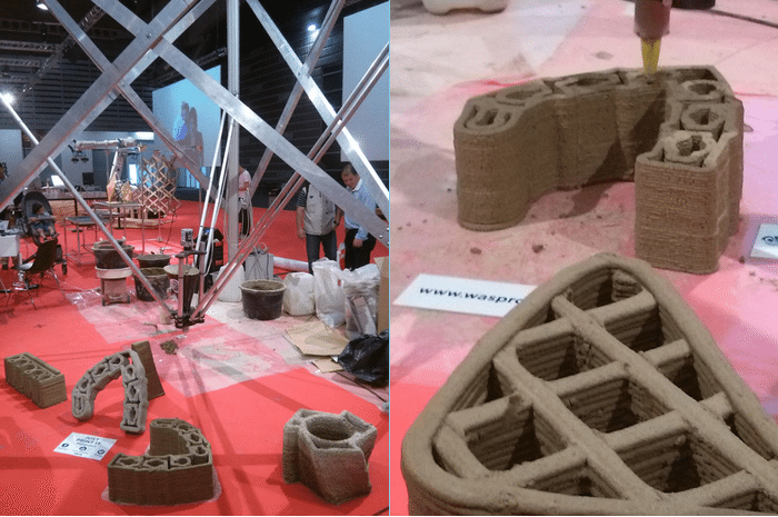 This WASP is making 3D printed houses from mud!