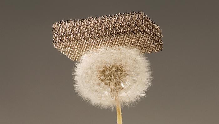 Microlattice - 100 times lighter than Styrofoam