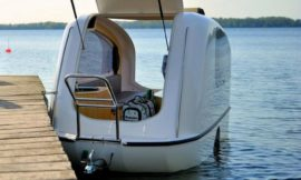 Sealander – it's a camper, it's a boat, it's both!