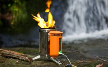 BioLite Wood Burning Campstove