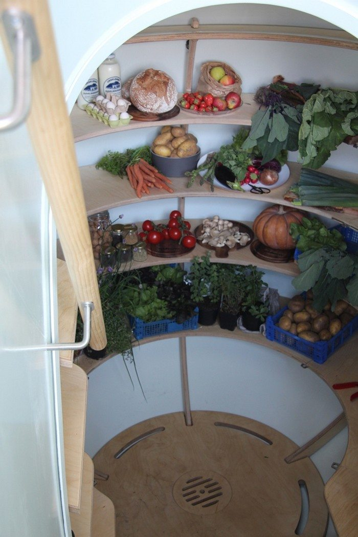Preserve your produce with the Groundfridge root cellar