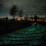 Glowing Bike Path Netherlands