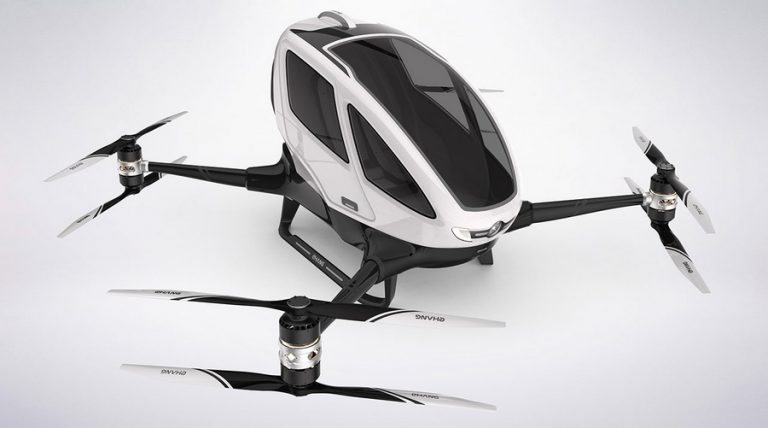 World's first passenger drone to operate over Dubai this summer!