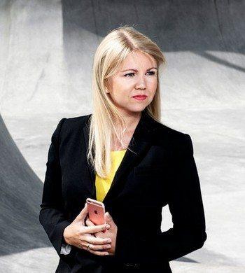 Elina Berglund - photo by Margareta Bloom Sandelback