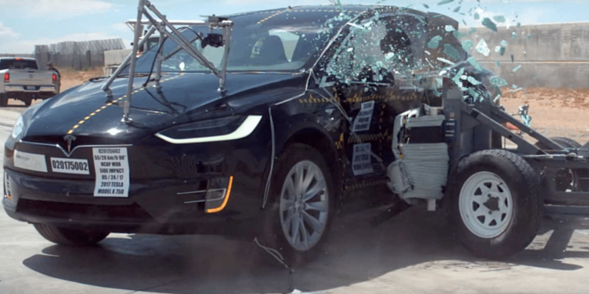 The Tesla Model X raises the bar in the SUV safety stakes!