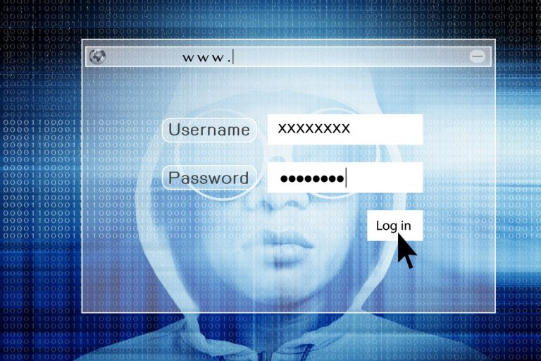 It's about that USB drive you found… it's transmitting your passwords!