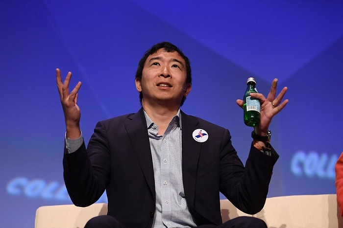 "US presidential candidate Andrew Yang says Google's achievement means that ""no code is uncrackable."""