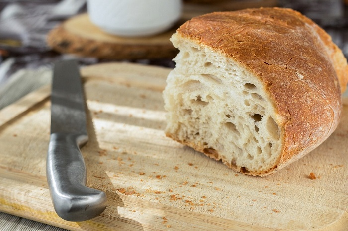 Humans have been eating wheat - and the gluten in it - for at least ten thousand years.