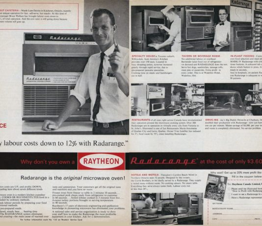 History of the Microwave Oven