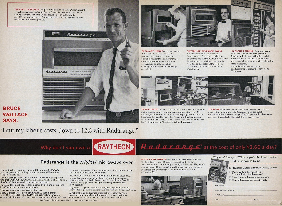 The Curious History of the Microwave Oven