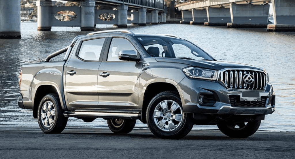 The LTV utility vehicle from SAIC Motors is expected to be released as an EV this year