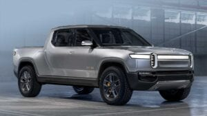 Rivian's R1T pickup is due for release in June, 2021
