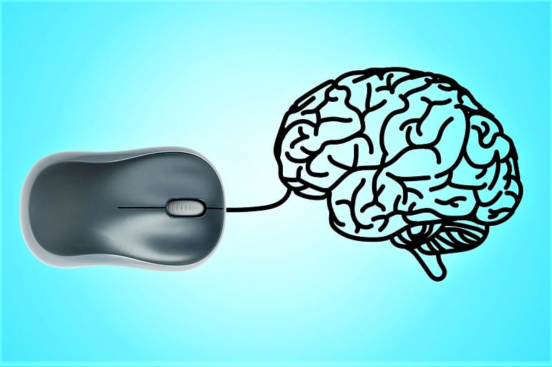 Researchers have devised a system that allows a person to communicate directly with a computer from his brain.
