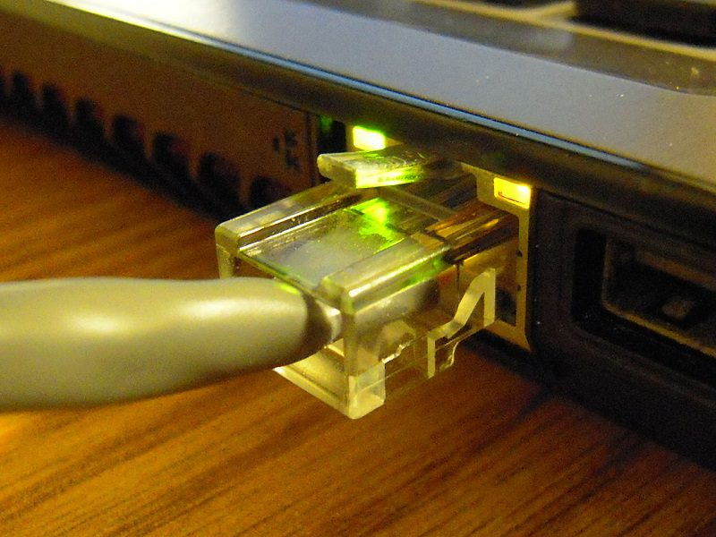 Wired connections are faster and more stable and are not affected by other devices in the network.