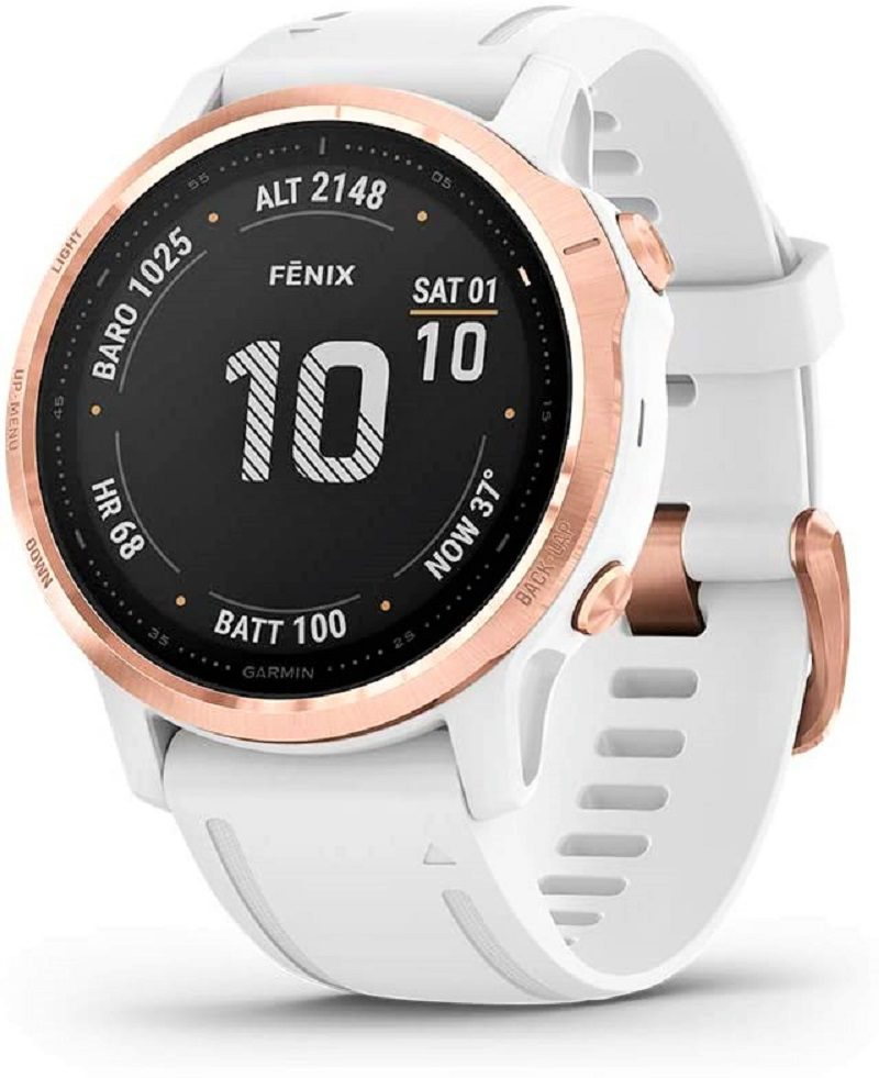 The Garmin Fenix 6S Pro is a handsome smartwatch that packs a gamut of useful features. The watch is smaller than its other siblings in Garmin's Fenix 6 series.