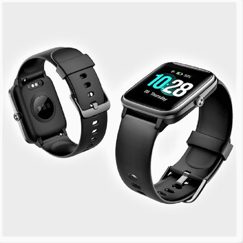 The Letsfit Smartwatch ID205L takes a back-to-the basics approach to the tracking features it offers. The device tracks your steps, sleep, heart rate, exercise, and alerts you when you receive calls and messages.
