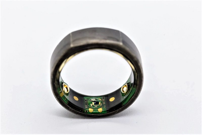 The Oura Ring tracks the time you spend in each sleep stage. The device also records your heart rate, heart rate variability, breathing rate, skin temperature, and several other metrics.