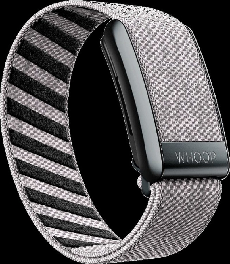 The Whoop Strap 3.0 measures your sleep, workout intensity, and how your body recovers from your exercise routines.